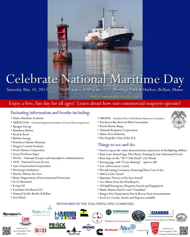 8 x 10 flyer Maritime Day 4-16-2013 DG Update